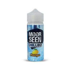 Moorseen Chilled ELiquid Juice 70/30 Fruit Nic Premium No Nicotine Shortfill