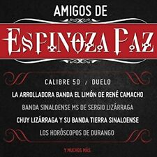 Calibre 50, Duelo, Banda MS, Chuy Lizarraga Amigos De Espinoza Paz CD New Sealed