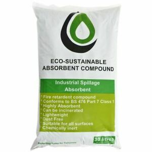 NEW ECOSPILL ORGANIC ABSORBENT GRANULES - 30 LITRES - GR0001 BEST QUALITY
