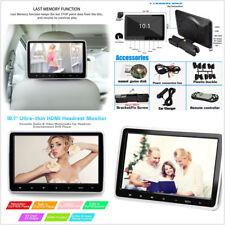 """10.1"""" numérique HD TFT écran LCD Appuie-Tête Voiture Monitor Dvd Player Remote Control"""