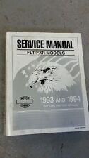 HARLEY FXR HARLEY DAVIDSON 1993 1994 FLT FXR 1340 Service Repair book Shop Manua