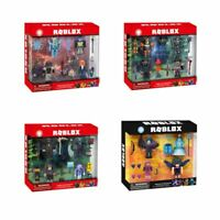 4PC Roblox Action Figure Mini Playset Robot Character Pack Kid Box Xmas Gift Toy