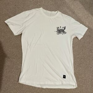 Drop Dead Hunted T-Shirt - Large (L) - White - RARE! Dropdead