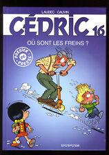 CEDRIC 16  /  Tirage Spécial PRESSE  8 pages en plus
