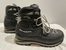 Scarpa Manta Gsb Mountain / Hiking / Trekking Boots Men's 9.5 (43) Excellent
