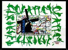 SELLOS OLIMPIADAS DE INVIERNO GHANA 1992 HB 186 ALBERTVILLE 92