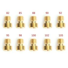 10 Sizes Round Head Main Jet Kit 82-105 for Motorcycle Scooter Carburetor PZ19