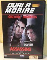 Assassins DVD Stallone Banderas Julianne Moore  - Duri a Morire Fabbri Editori