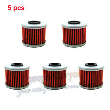 5x Oil Filter For Honda CRF150F CRF250R CRF450R TRX450R CRF150RB HUSQVARNA TE310