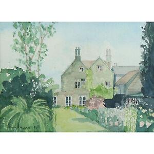 Tim Jones Chipping Campden House Modern Cotswolds Landscape Watercolour Painting