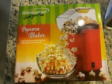 ]Brentwood Pc-486R Popcorn Maker 5-Inch x 7.5-Inch x 10.5-Inch Red and Black