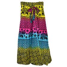 """Cotton Wrap Skirt - 34"""" / Tie Dye"""