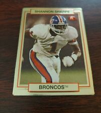 1990 action packed Shannon Sharpe rookie update football card #46 Broncos NM/MT