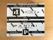 2018 PANINI FOOTBALL CARD FAT PACK JUMBO BOX