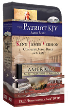The Patriot's Bible KJV (Audio CD) w/ Famous Voices of Freedom - Retail $99.99