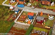 Faller 272551 Piste N, Schreber Garniture De Jardin 2, Miniatures 1:160