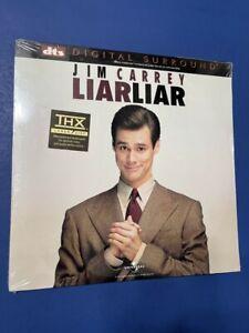 LIAR LIAR - DTS LASERDISC - Brand New Sealed - Jim Carrey - 1997 / Comedy