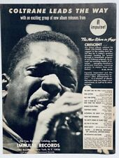 JOHN COLTRANE vintage 1964 ADVERT IMPULSE RECORDS