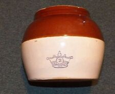 Single Handle Crown #2 Bean Pot - Robinson and Ransbury