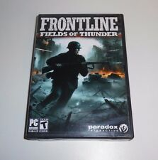 FRONTLINE: Fields of Thunder PC Game (PC, 2007, Paradox Interactive)