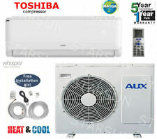 12,000 BTU  Ductlless Air Conditioner, Heat Pump Mini split 110V 1 Ton With/K