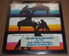 Art of Glenn Gould BEETHOVEN Symphony 5 BACH Goldberg - Columbia S2S 5336 SEALED