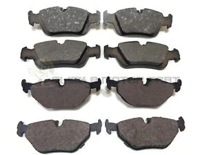 Brake Pads Set fits BMW Z3 E36 1.9 Rear 97 to 03 Brakefit 34211160340 Quality