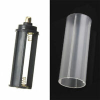 1pcs 18650 Battery Tube + 1pcs AAA Battery Holder for Flashlight Torch Lamp u