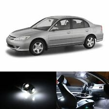 9x HID White Interior LED Lights Package Kit Fits 2001-2005 Honda Civic #A91