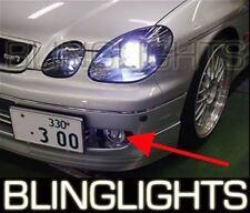 1998-2003 Lexus GS GS300 GS400 GS430 Halo Fog Lamp Blue Angel Eye Driving Lights