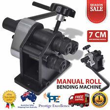 Sheet Metal Bender Manual Roll Bending Machine Workbench Rolling Metalwork Tools
