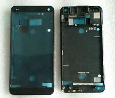 Cornice LCD BEZEL FRAME CHASSIS GUSCIO COVER housing black display per HTC One m7