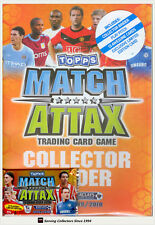 2009-10 Topps Match Attax Trading Card Game Official Album (Pages + Bonus Card)