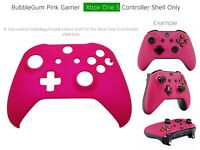 New Xbox One S Bubblegum Pink Soft microsoft Controller Gamer Girl/Chick Baby