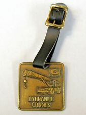GROVE CRANES truck crane watch fob & strap HEAVY EQUIPMENT