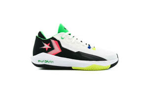 Converse All Star BB Jet Mid Men Basketball Shoes New White Solar Red 171634C