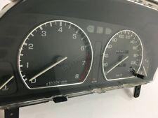 Honda Concerto 1988-1994 Polished Aluminium Chrome Gauge Trim Rings 2pcs
