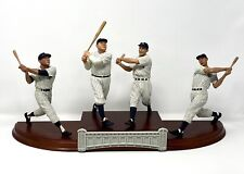 Danbury Mint Ny Yankees Legends Figurine Set Mantle Ruth Gehrig Dimaggio In Box