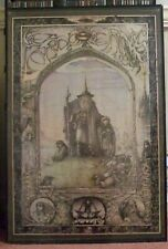 Lord of the Rings RARE Original Vintage 1976 Poster by Jimmy Cauty