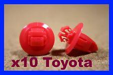 10 TOYOTA plastik radlauf panel futter abdeckung schutzblech verschluss pin