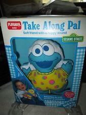 Sesame Street Cookie Monster Take Along Pal Baby Doll Toy Playskool 1991 NRFB