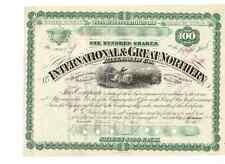 International & Great Northern Railroad Co. 1878