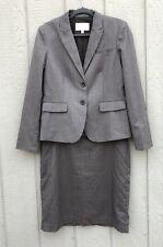 Banana Republic Women's Lined Brown Career Skirt Suit Set sz 14