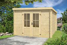 Gartenhäuser mit 5,1 10 m² Fläche und 20 28 mm Wandstärke günstig