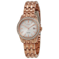 Citizen Silhouette Crystal Silver Dial Ladies Watch EW1903-52A-AU
