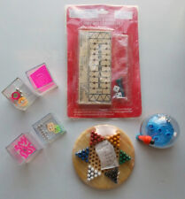 SET 7 GAMES CLASSIC FOOTBALL CHINESE CHECKERS MAGNET DROP 4 CUBE PUZZLERS NEW