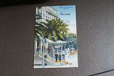 Old Vintage or Antique Postcard O'Connor Giraudy's Hotel Nice France Exterior