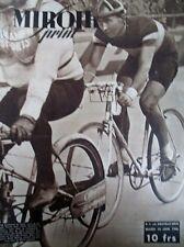 CYCLISME BORDEAUX PARIS EMILE MASSON BOXE JACK JOHNSON N° 4 MIROIR SPRINT 1946
