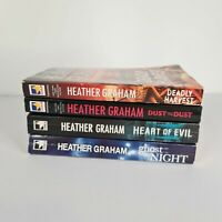 Heather Graham Bundle 4 x Books Paranormal Thriller Horror Mystery Small Fiction