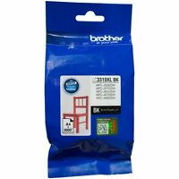 Brother GENUINE LC3319 LC3319XL BK Black Ink Cartridges Yields 3,000 Pages